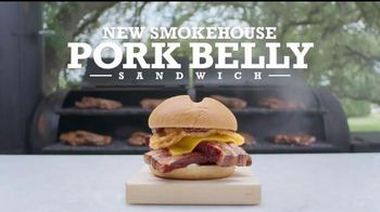 Arby's Smokehouse Pork Belly Sandwich TV Spot, 'Commonalities' - 23 commercial airings