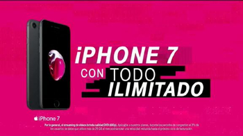 T-Mobile One TV Spot, 'iPhone 7 merece datos ilimitados' [Spanish] - Thumbnail 6