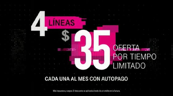 T-Mobile One TV Spot, 'iPhone 7 merece datos ilimitados' [Spanish] - Thumbnail 4