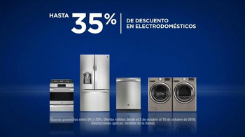 Sears Evento de Columbus Day de Electrodomésticos TV Spot, \'Come\' [Spanish]