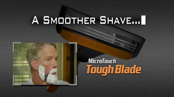 MicroTouch Tough Blade TV Spot, 'Fans' Featuring Brett Favre - 1604 commercial airings