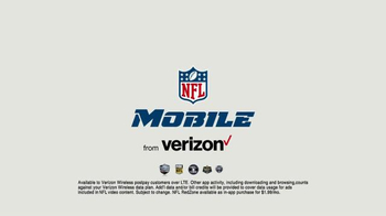 Verizon NFL Mobile TV Spot, 'Pile' Featuring Clay Matthews - Thumbnail 8