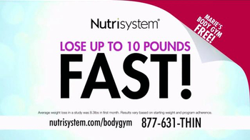 Nutrisystem Turbo 10 TV Spot, 'BodyGym' Featuring Marie Osmond - Thumbnail 2