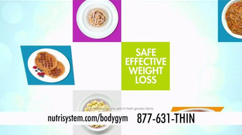 Nutrisystem Turbo 10 TV Spot, 'BodyGym' Featuring Marie Osmond - Thumbnail 4