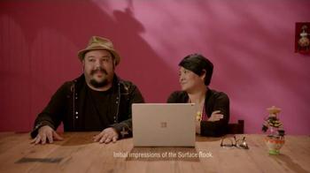 Microsoft Surface Book TV Spot, 'Jorge and Sandra Experience Surface Book' - Thumbnail 2