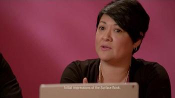 Microsoft Surface Book TV Spot, 'Jorge and Sandra Experience Surface Book' - Thumbnail 3