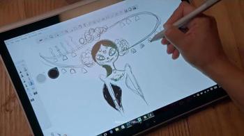 Microsoft Surface Book TV Spot, 'Jorge and Sandra Experience Surface Book' - Thumbnail 5