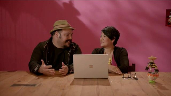 Microsoft Surface Book TV Spot, 'Jorge and Sandra Experience Surface Book' - Thumbnail 9