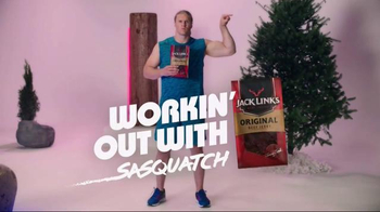 Jack Link's TV Spot, 'SasquatchWorkout: Boulder Crushes' Ft. Clay Matthews - 180 commercial airings