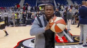 WNBA TV Spot, 'Pass the Ball' Featuring Stephen Curry, Kevin Hart, Drake - Thumbnail 3