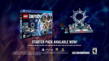LEGO Dimensions Starter Pack TV Spot, 'Adventure' - 290 commercial airings