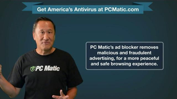 PCMatic.com TV Spot, 'Feel Safe From Cyber Criminals' - Thumbnail 4
