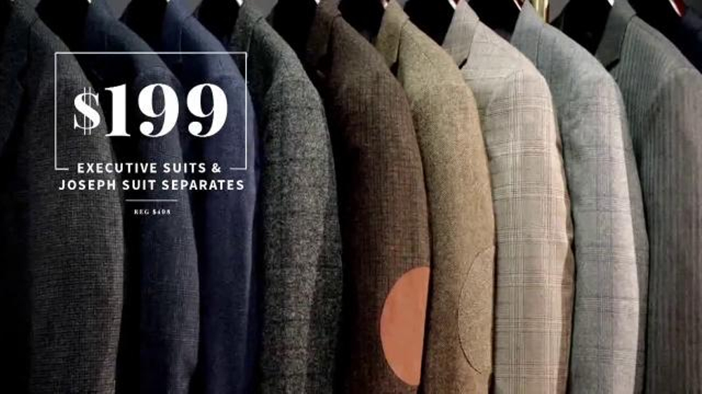 JoS. A. Bank September Fall Sale TV Commercial, 'Suits and Shirts'