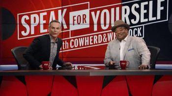 FOX Sports GO TV Spot, 'FOX Sports 1: Speak for Yourself' Ft. Colin Cowherd