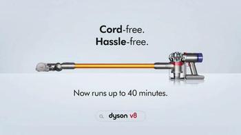 Dyson V8 TV Spot, 'Cord Free' - Thumbnail 8