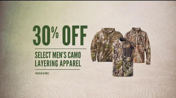 Cabela's Ultimate Outfitter Sale TV Spot, 'Gather the Troops: Camo' - Thumbnail 7