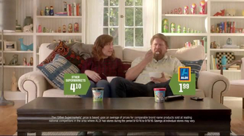 ALDI TV Spot, 'Ice Cream' - 33 commercial airings