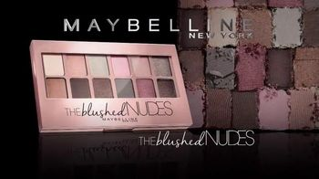 Maybelline New York The Blushed Nudes TV Spot, 'Dare' Feat. Adriana Lima