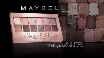 Maybelline New York The Blushed Nudes TV Spot, 'Dare' Feat. Adriana Lima - Thumbnail 8