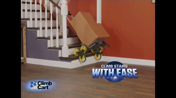 Climb Cart TV Spot, 'A Handcart With No Strain and No Pain' - Thumbnail 2