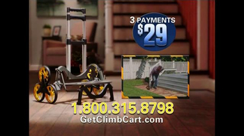Climb Cart TV Spot, 'A Handcart With No Strain and No Pain' - Thumbnail 8