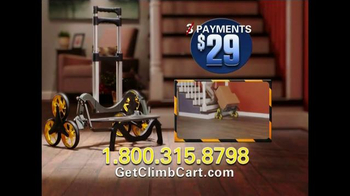 Climb Cart TV Spot, 'A Handcart With No Strain and No Pain' - Thumbnail 9