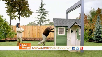 Public Storage TV Spot, 'Moving Emily's Playhouse Into Storage'
