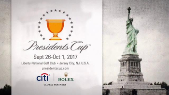 PGA TOUR 2017 Presidents Cup TV Spot, 'Jersey City' - 489 commercial airings