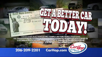 CarHop Auto Sales & Finance  TV Spot, 'Drive Today'