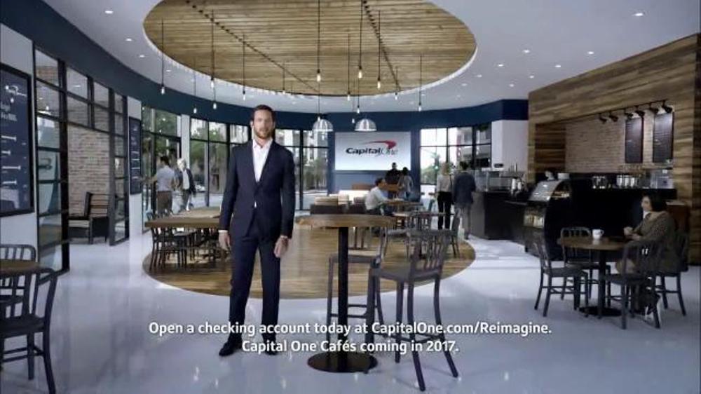 capital one tv commercial 39 reimagining banking 39. Black Bedroom Furniture Sets. Home Design Ideas