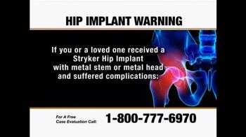 Hip Implant Warning thumbnail
