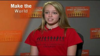 The Prudential Spirit of Community Awards TV Spot, 'Honoring Excellence' - Thumbnail 5