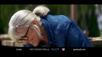 GreatCall Lively Alert TV Spot, 'Dog Volunteer: First Month Free' - Thumbnail 1