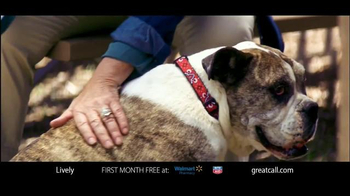 GreatCall Lively Alert TV Spot, 'Dog Volunteer: First Month Free' - Thumbnail 2