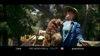 GreatCall Lively Alert TV Spot, 'Dog Volunteer: First Month Free' - 151 commercial airings