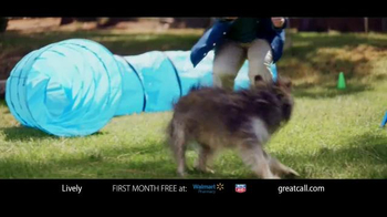 GreatCall Lively Alert TV Spot, 'Dog Volunteer: First Month Free' - Thumbnail 5