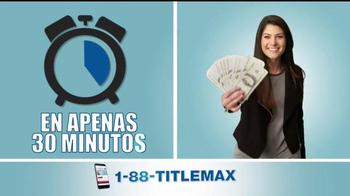 TitleMax TV Spot, 'Obtenga efectivo' [Spanish] - Thumbnail 4