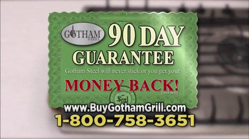 Gotham Steel Double Grill TV Spot, 'Made with Ti-Cerama' - Thumbnail 7