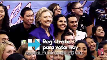 Hillary for America TV Spot, 'Primera vez' [Spanish] - 5 commercial airings