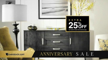 Overstock.com Anniversary Sale TV Spot, 'Celebrate and Save' - Thumbnail 2
