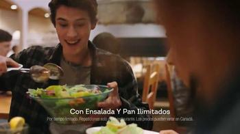 Olive Garden Never Ending Pasta Bowl TV Spot, 'Combinaciones' [Spanish] - Thumbnail 6