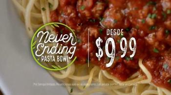 Olive Garden Never Ending Pasta Bowl TV Spot, 'Combinaciones' [Spanish] - Thumbnail 7