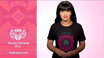 Ford Warriors in Pink Tee TV Spot, 'NCIS: Pauley Perrette' - 5 commercial airings