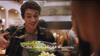 Olive Garden Never Ending Pasta Bowl TV Spot, 'It's Back' - Thumbnail 5