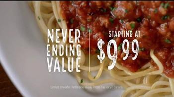Olive Garden Never Ending Pasta Bowl TV Spot, 'It's Back' - Thumbnail 6
