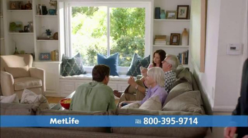MetLife TV Spot, 'Three Families' - Thumbnail 1