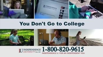 Independence University TV Spot, 'Learn Online'