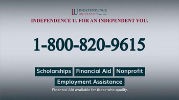 Independence University TV Spot, 'Learn Online' - Thumbnail 9