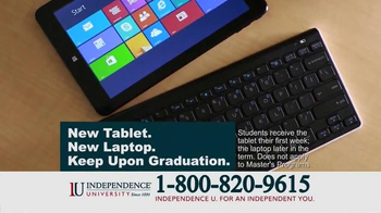 Independence University TV Spot, 'Learn Online' - Thumbnail 7