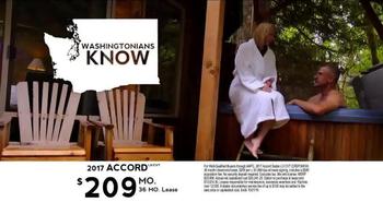 2017 Honda Accord TV Spot, 'Western Washington: Fast Lane' - Thumbnail 9